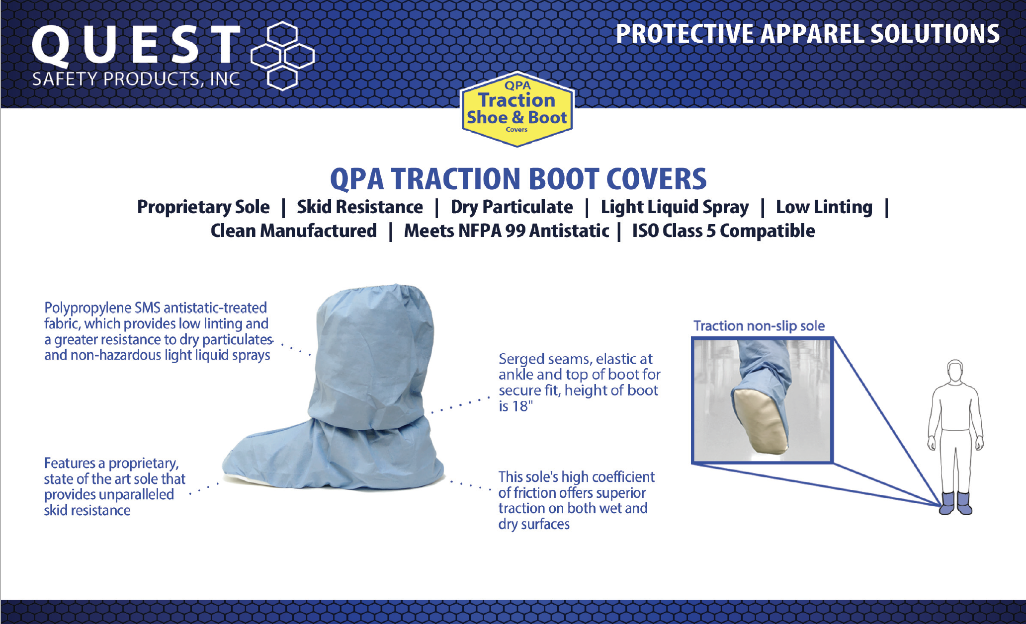 Quest Safety Products Boot Covers